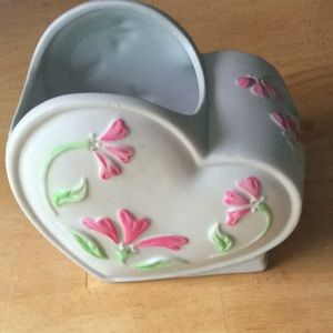 Vintage Heart Shaped Planter by FTD
